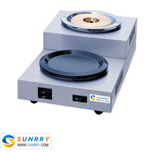 Electric car coffee warmer with one broiler and one warmer desktop mini coffee warmer (SUNRRY SY-CM130A)