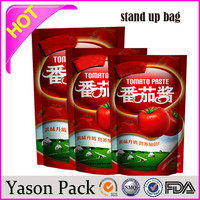 Yasonpack green tea pouches plastic water pouch food pouch packaging