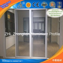 Good! Mid-large Zhonglian factory wholesale pictures of aluminum doors, output 500 square meter monthly aluminum glass doors