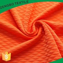 Fashion design solid Diamond jacquard knitting fabric