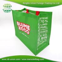 Custom Reusable pp shopping bag for promotion