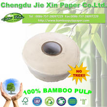 100% bamboo pulp Printed roll tissue paper manufacture