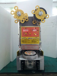 Automatic plastic cup sealing machine ( cup sealer )
