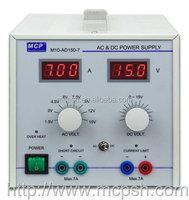 MCP M10-AD150-7 - AC DC POWER SUPPLY 0-15VDC 7A, 1.5V, 3V, 4.5V, 6V, 7.5V, 9V, 12V, 15V ac 7A