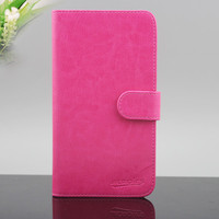 wholesale flip leather wallet pouch case for Kyocera hydro vibe c6725