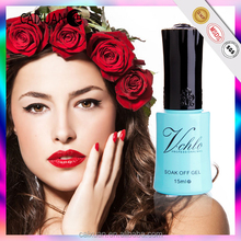 2015 the most beautiful gel polish popular selling nail art decoration liner nail polish with 132 colors