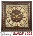 24 antiguos pulgadas color material de plástico reloj de tiempo, plaza del reloj