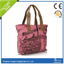 China Durable canvan popular ladies shopping bag cotton bags from karachi pakistan