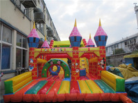 Commercial exciting special design inflatable water slide for sale