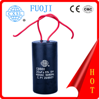 CBB60 washing machines parts of capacitor motor