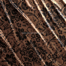 100 polyester fabric changxing Textile Poly satin Fabric Manufacturer