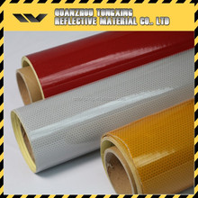 PET material glass bead pattern reflective adhesive film