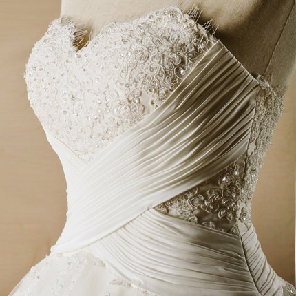 Train Wedding Dress Factory AH103 1646 1