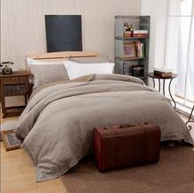 100% Natural Linen Duvet Cover Set, Quilt Cover Set, Stone washed Linen Bed Cover Set