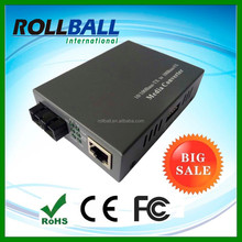 High performance 10/100M SM 20km industrial media converter 100fx to 100tx
