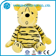 fashion new style christmas gift soft outdoor plush stuffed tiger