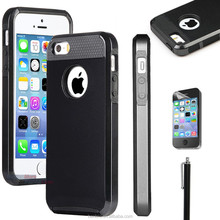 Hot selling Wholesale Edge Dots Heavy Duty Hybrid Bumper Case Hard Case for iPhone 6 plus with Texture