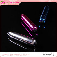 JNV125 stainless steel super silent black bullet vibrator