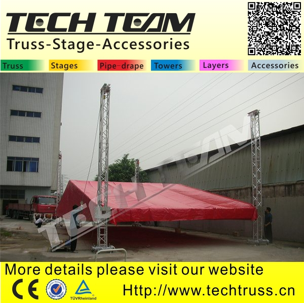 ground support truss system