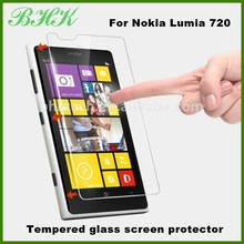 phone acessories peep proof tempered glass screen protector for Nokia Lumia 720,shatter resistant screen protector