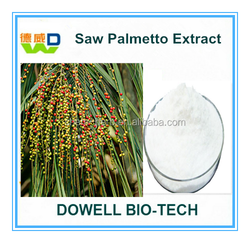 Factory Supply Best High Quality Saw Palmetto Berry Extract 25% /45%Fatty Acid Saw Palmetto P.E Serenoa Serrulata Fruit Extract