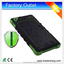 New Products Waterproof 5000mAh Solar Cell Phone Charger
