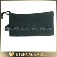 hot recommend black drawstring velvet pen bag, gift pencil bag, pen/refill bag