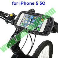 Sand-proof/Snow-proof/Dirt-proof Bike Mount Waterproof Case for iPhone 5 5C