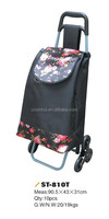 Factory direct sales Foldable shopping cart bags/shopping trolley for supermarket