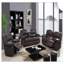 Living Room Sofa Specific Use and Genuine Leather Material home furniture
