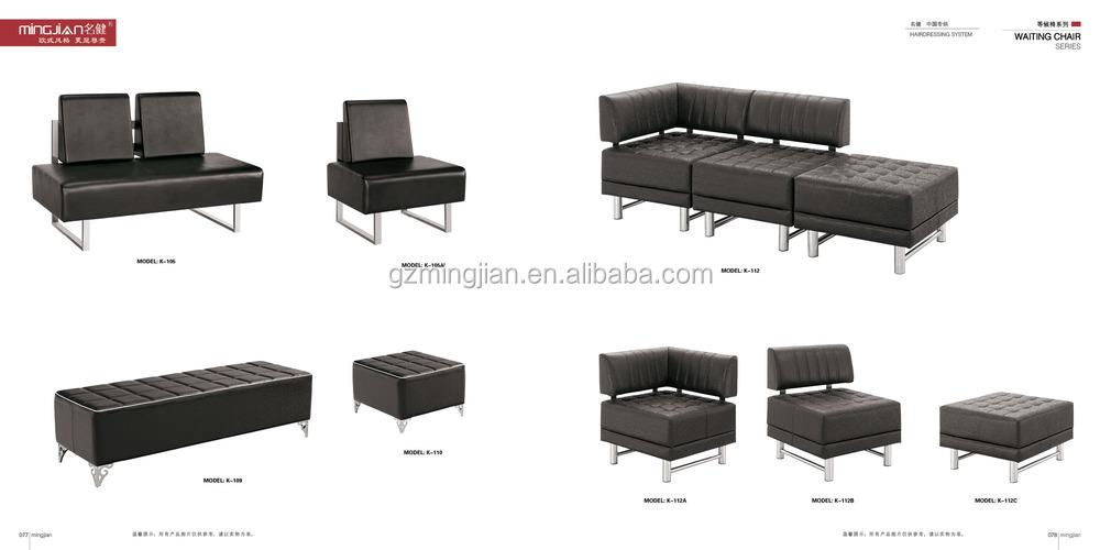 Equipamento do sal o de espera sof de espera cadeiras de - Sofas arabes baratos ...