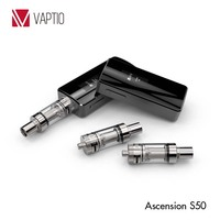 Vaptio vaporizers for smoking adjustable wattage box mod vapes Ascension S50 Ni200 temperature control vaporizer sale