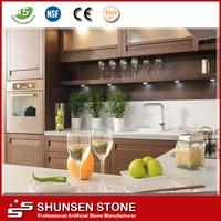 High impact resistance white fake decorative rocks for furniture QZ801