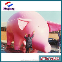 NB-CT2059 NingBang Most Enjoyable Top Selling Interesting Advertising Inflatable Pig