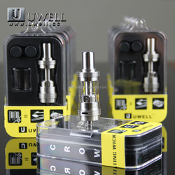 2015 Factory Price Fast Delivery tank! CROWN food-grade clearomizer atomizer device from uwell