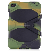 New Products For iPad Mini 4 Military Anti-Shock Silicon Cover With Belt Clip