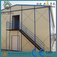 China Supplier Luxury Modern Design Low Cost Steel Structure House Prefabricated Homes