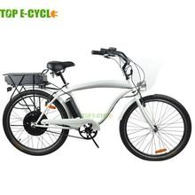 TOP E-cycle beach cruiser e bike cheap electric bicycle for sale