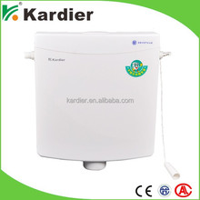 Reliable quality white toilets part, flush tank in factory price