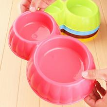 pet products dog plastic feeder bowl cat water and food feeder