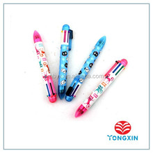 back to school high quality 6 color assot ball pen set