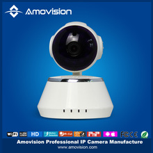 Amovision QF510 theft proof Day Night View Pan tilt camera ip Dome multi view ip wireless camera