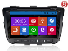 ugode KIA Sorento Car stereo with built in DVD GPS radio bluetooth USB IPOD TV
