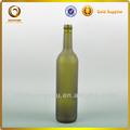 750ml bordeaux garrafa/forsted garrafa/fosco verde escuro