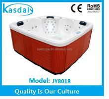 acrylic enclosure european niche market affordable indoor hot spa tub