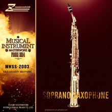 Woodwind musical instrument straight sopranino saxophone