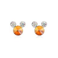 9460 mother custom engraved metal jewelry cherry earrings
