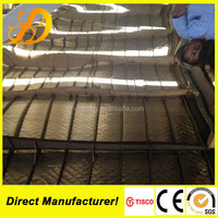 201 color coating stainless steel sheet