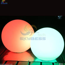 Outdoor waterproof plastic illuminated LED ball light / Alibaba trade assurance supplier LED color change ball