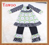 yawoo import kids clothing china factory winter clothes kids fashion black floral arabic girls clothes dress design clothing set